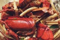 香辣嫩笋炒大虾的做法