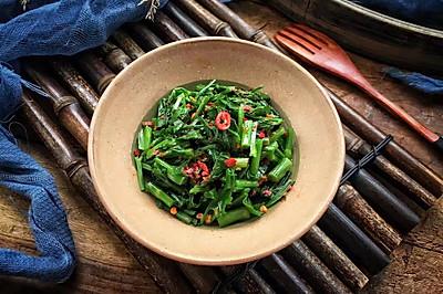凉拌水芹菜
