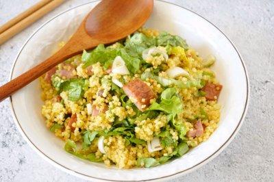 健康美味;农家小米饭
