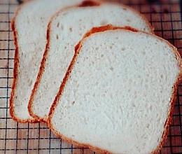 零失败~奶香吐司——面包机版的做法