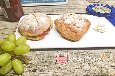 欧式软馅面包