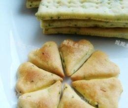 香葱苏打饼干的做法