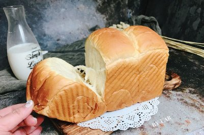 超軟超拉絲的波蘭種淡奶油手撕吐司 墻裂推薦 營養早餐