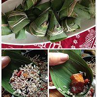 酒香杂粮小肉粽的做法图解4