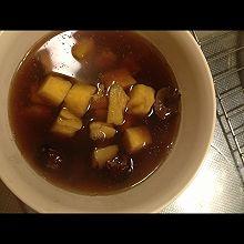红薯红豆红枣汤