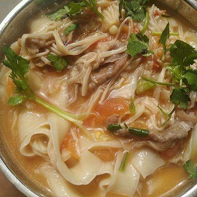 超牛尾火锅金针菇做法菜谱肥牛_美味_豆果美襄阳面的番茄哪里吃图片
