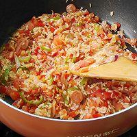虾仁焖饭--利仁电火锅试用菜谱的做法图解9