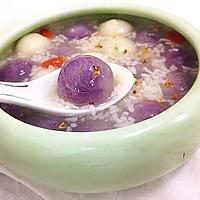 紫薯汤圆酒酿羹的做法图解21
