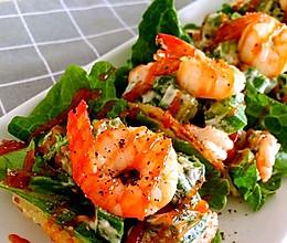 #餐桌上的春日限定#秋葵虾卷沙拉的做法