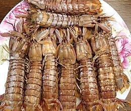 #美食视频挑战赛# 清蒸皮皮虾的做法