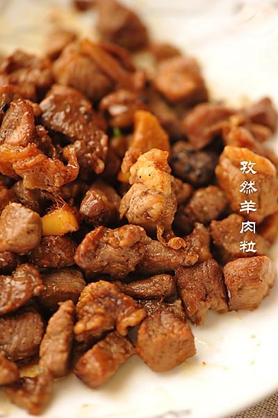 利仁電餅鐺試用—孜然羊肉粒