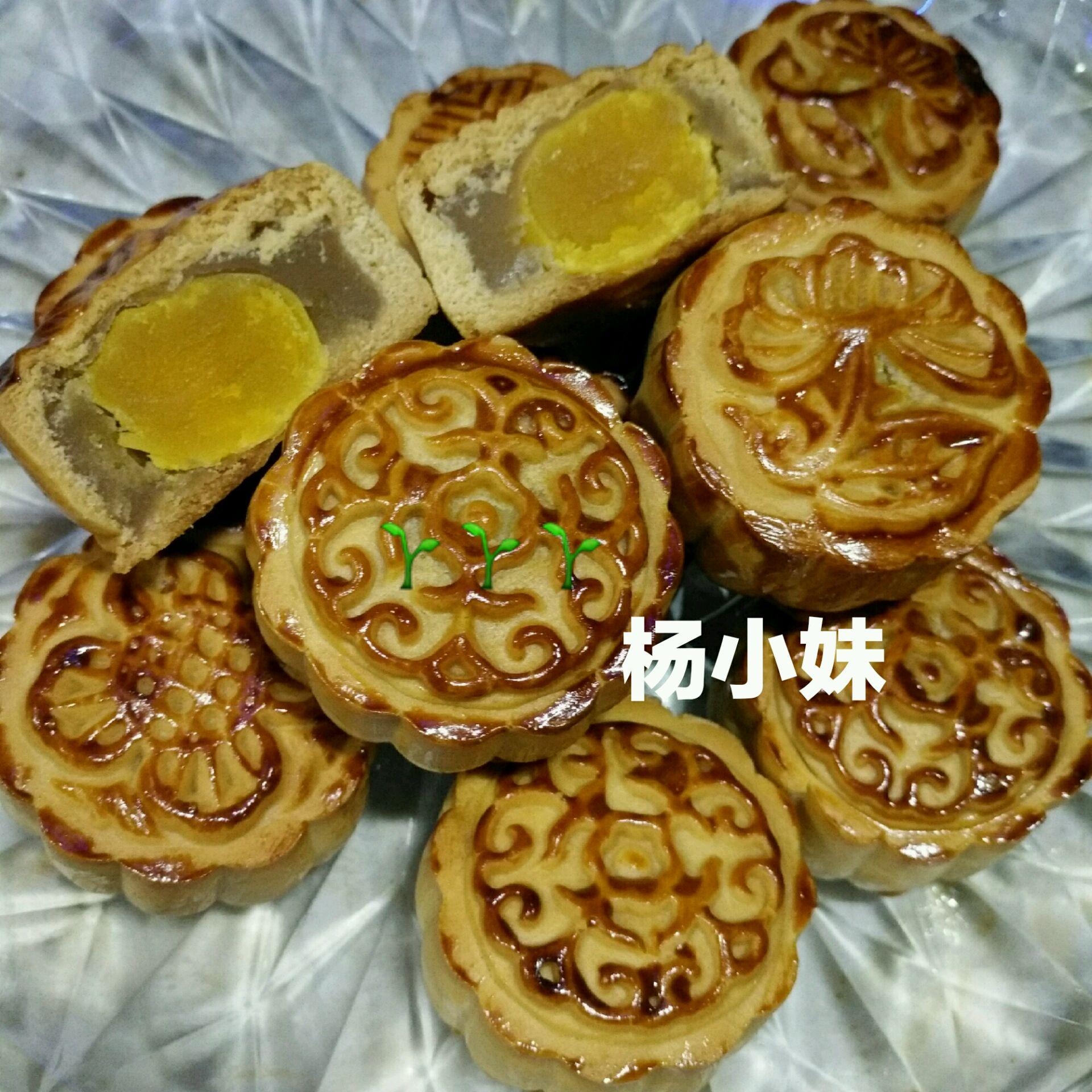 莲蓉蛋黄月饼的做法_【图解】莲蓉蛋黄月饼怎么做如何