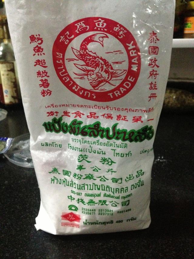 加入木薯粉