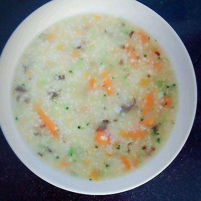 南瓜小米虾皮粥~宝宝辅食营养补钙