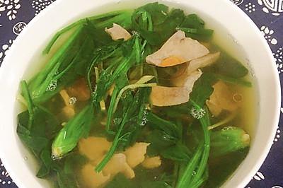 补铁菠菜猪肝汤
