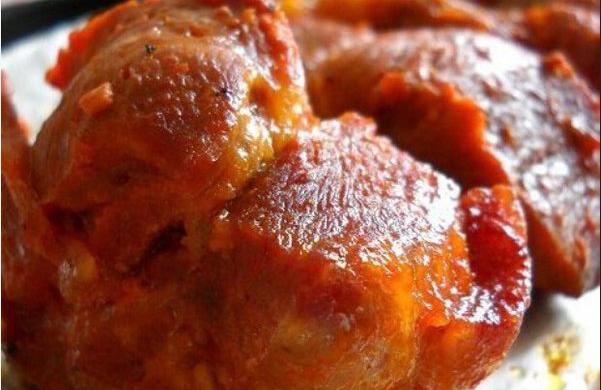 微波蒜香烤肉
