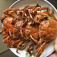 花雕蒸醉蟹的做法图解5