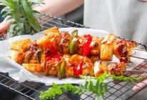 煎烤鸡肉串的做法