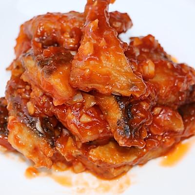 茄汁蒜香鱼块