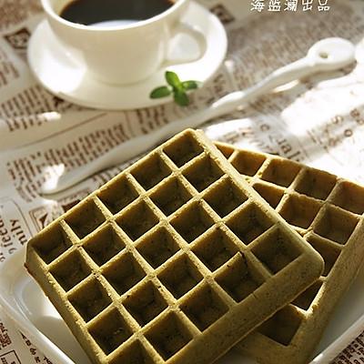 抹茶华夫饼