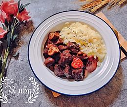 法餐在家轻松做: 红酒炖牛肉配土豆泥的做法