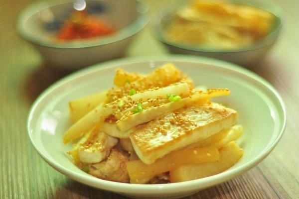 日式萝卜豆腐的做法