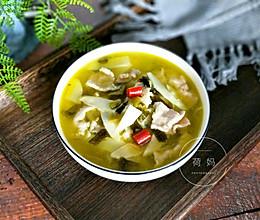 苦笋肉片汤的做法