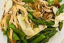超下饭❤山药芦笋炒鸡肉丝️的做法