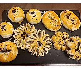 蛋黄酥and花式酥点的做法