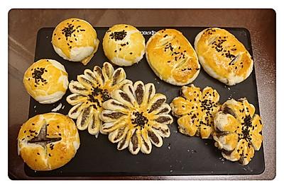 蛋黄酥and花式酥点