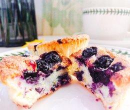 #美食视频挑战赛#蓝莓天使马芬的做法
