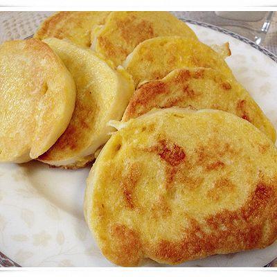 【多妈爱下厨】方便的早餐主食-鸡蛋煎馒头片
