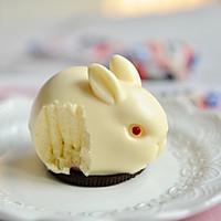 大白兔慕斯(无需烤箱 零失败)#肉食者联盟#的做法图解20