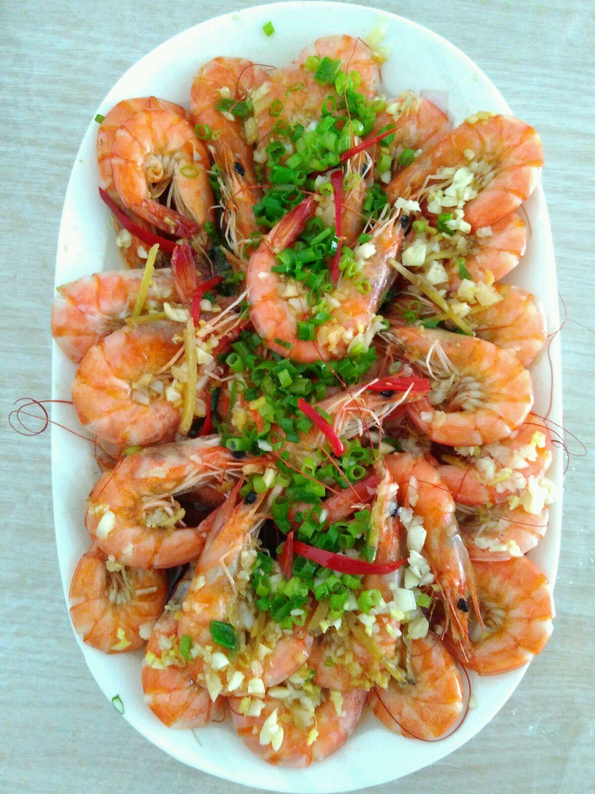 清蒸大虾的做法_【图解】清蒸大虾怎么做如何做好吃