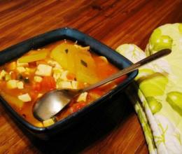 冬瓜番茄豆腐汤的做法