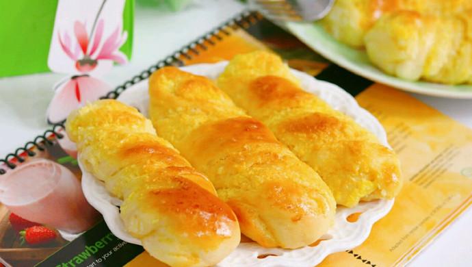 椰蓉面包棒#馅儿料美食,哪种最好吃#