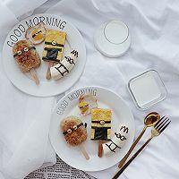 小黄人早餐饭团棒冰,让宝贝爱上吃饭的做法图解19