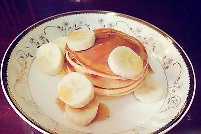 Pancake--香蕉热煎饼