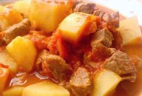 番茄土豆炖牛肉的做法