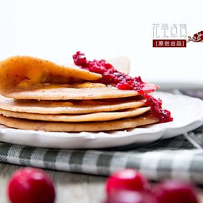 蔓越莓蛋饼