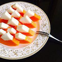 木瓜椰奶冻的做法图解8