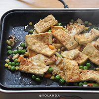 什锦豆腐 | 家常素食小菜的做法图解7
