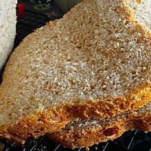 全麦吐司--全麦面包早餐好选择-减肥必备面包机版全麦吐司