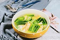 含丰富维生素BC—丝瓜鸡蛋汤的做法