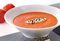 番茄甜椒汤的做法
