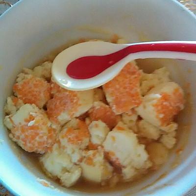 宝宝辅食——奶香胡萝卜鸡蛋羹