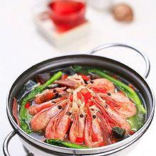 上汤金针菇北极虾