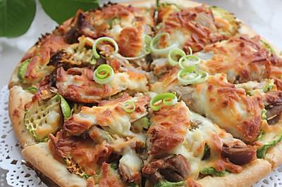 北京烤鸭披萨