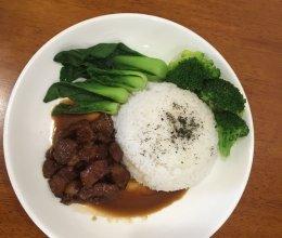 红烧肉盖饭的做法
