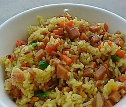 黃金美味咖喱蛋炒饭的做法